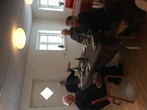 Frokost med de frivillige gartner
