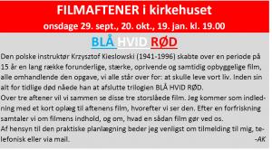 Filmaften - husk tilmelding til Anders Kingo
